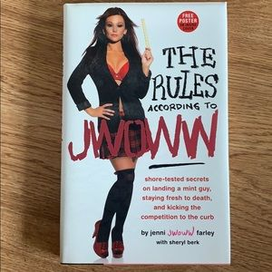 """""""The Rules According to JWOWW"""" Book"""